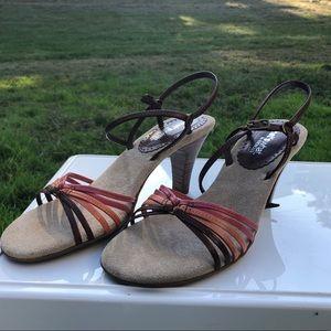 Aerosoles high heel Sandler's in coral